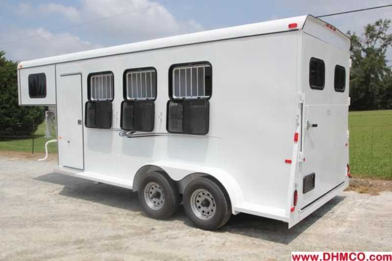 New 2013 Dixie Tuff 3 Horse Slant Trailer