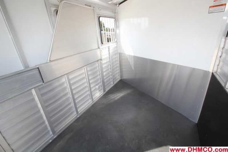 #A6649 - New 2013 Sundowner SS2HGN 2 Horse Trailer  with 2' Short Wall