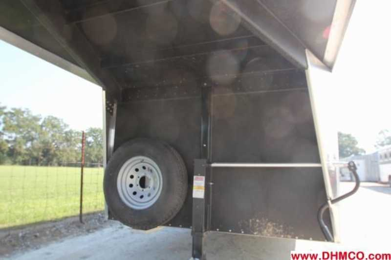#A6651 - New 2013 Sundowner SS4HGN 4 Horse Trailer  with 2' Short Wall
