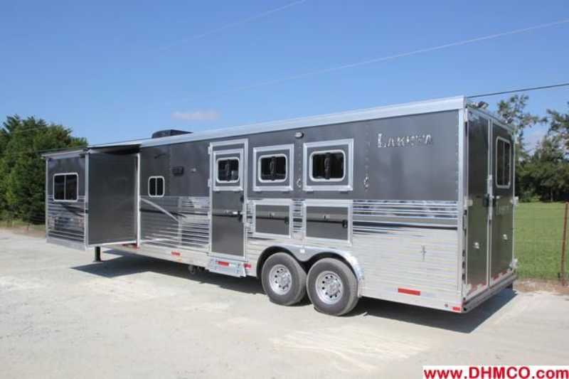 #87162 - New 2013 Lakota 8315GLQ 3 Horse Trailer  with 15' Short Wall