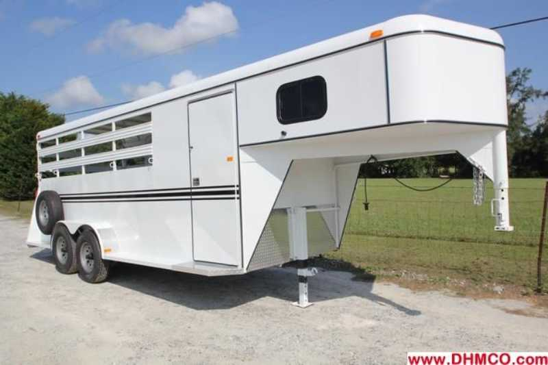 New 2013 Dixie Tuff 4 Horse Slant Trailer