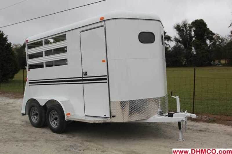 New 2013 Dixie Tuff 2 Horse Slant Trailer