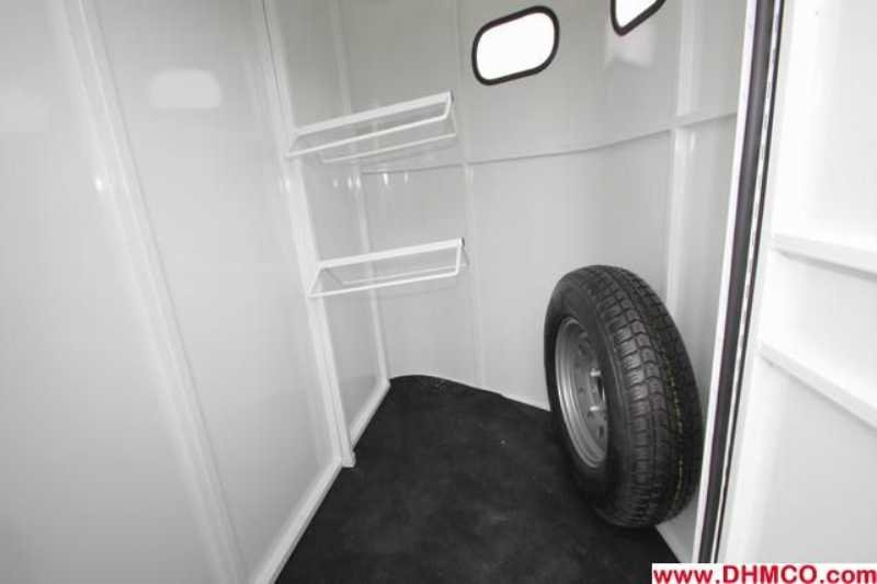 #77614 - New 2013 Bee 2HBPSL 2 Horse Trailer  with 2' Short Wall