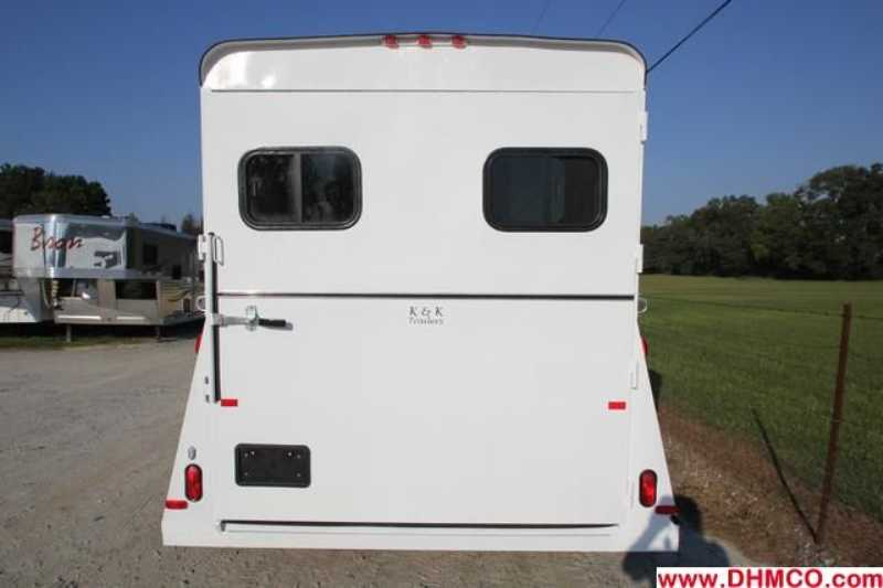 #77599 - New 2013 Bee 2HSLGN 2 Horse Trailer  with 2' Short Wall