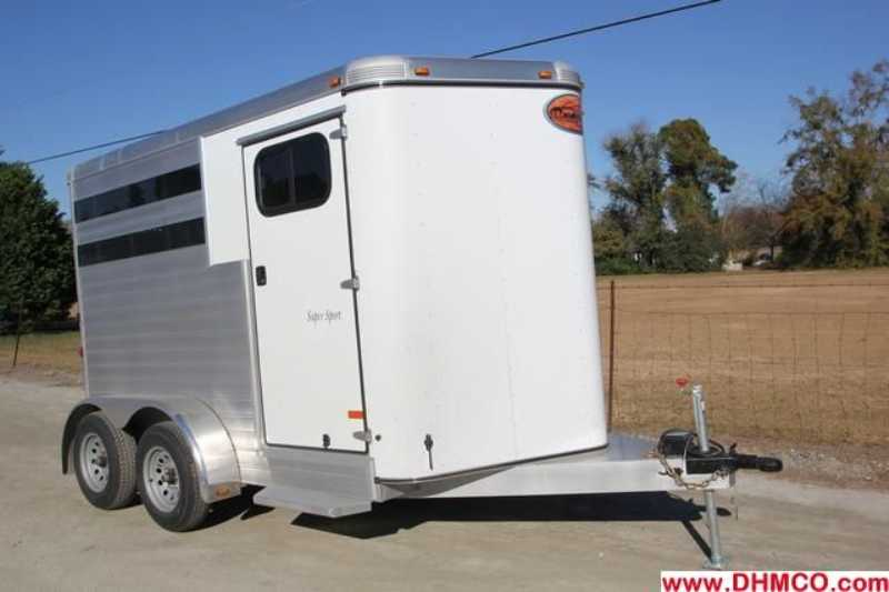 #A6971 - New 2013 Sundowner SS2HBP 2 Horse Trailer with 2' Short Wall
