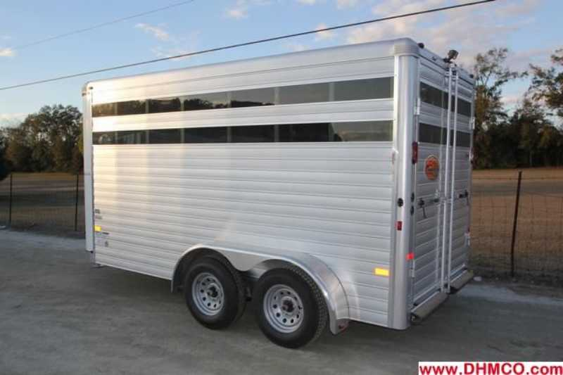 #A6970 - New 2013 Sundowner Stockman16BP Stock Trailer