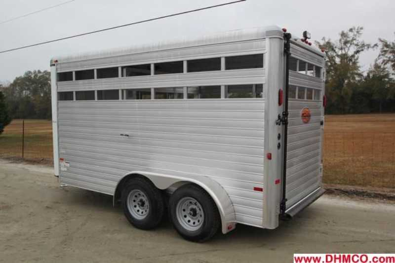 #A6969 - New 2013 Sundowner Stockman16BP Stock Trailer