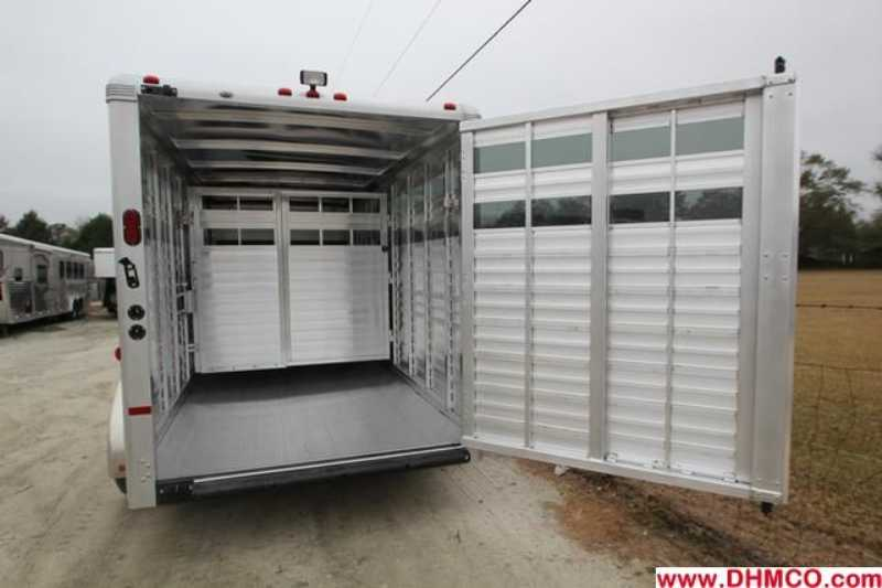 #A6987 - New 2013 Sundowner RANCHER16GN Stock Trailer