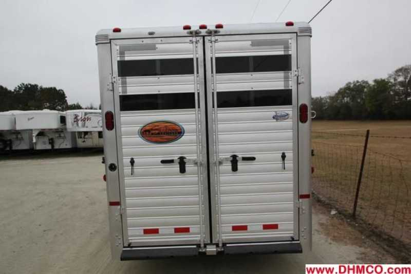 New 2013 Sundowner 4 Horse Slant Trailer