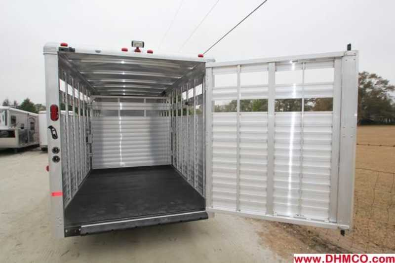 #A6982 - New 2013 Sundowner RANCHER24GNTR Stock Trailer  with 4' Short Wall