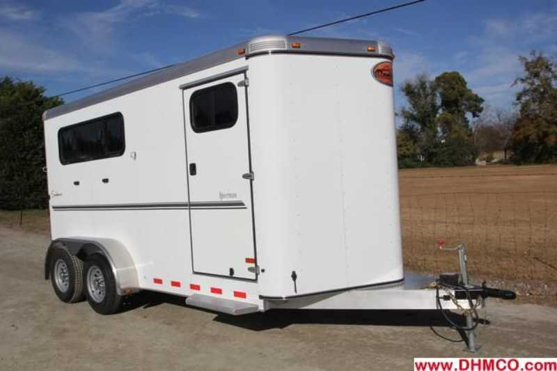 #A7134 - New 2013 Sundowner SPORTMAN3HBP 3 Horse Trailer with 3' Short Wall
