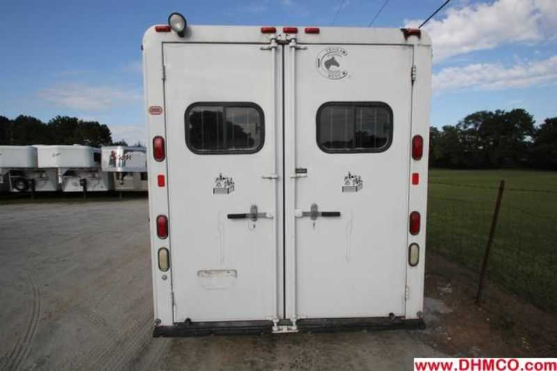 #20130 - Used 2003 Trails West  4 Horse Trailer  with 9' Short Wall