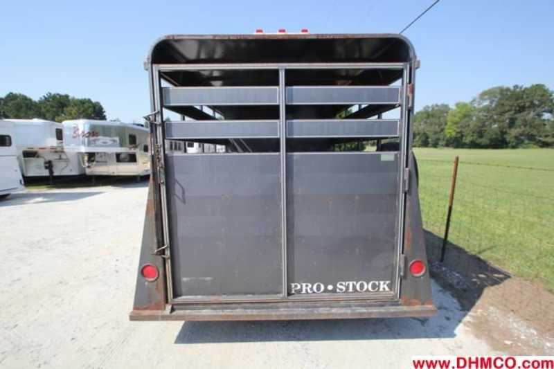 Used 1996 ProStock 2 Horse Straight Trailer