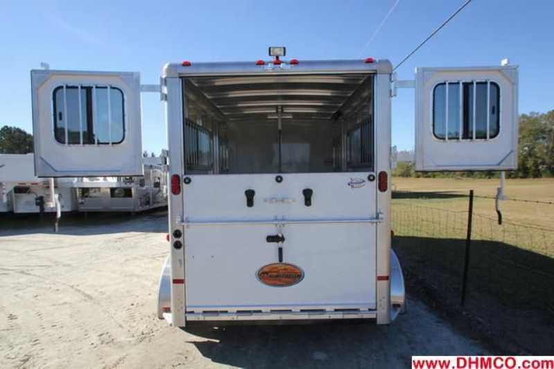 #A7154 - New 2013 Sundowner CHARTER2HGNTRSE 2 Horse Trailer  with 4' Short Wall