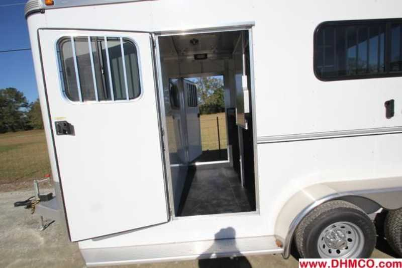 #A7152 - New 2013 Sundowner CHARTER2NBPTRSE 2 Horse Trailer  with 5' Short Wall