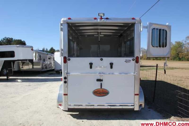 #A7189 - New 2013 Sundowner CHARTER2HGNTRSE 2 Horse Trailer  with 4' Short Wall