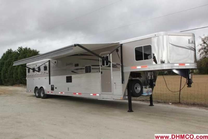#87269 - New 2013 Lakota 8417 SSLQ 4 Horse Trailer with 17' Short Wall