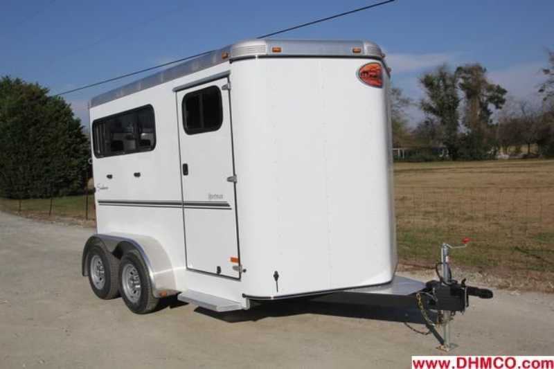 #A7236 - New 2013 Sundowner SPORTMAN2HBP 2 Horse Trailer with 3' Short Wall