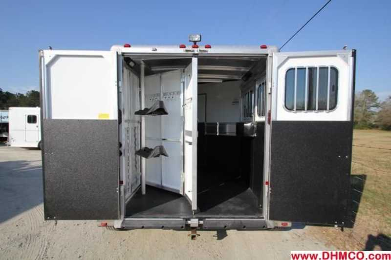 #A5963 - New 2013 Sundowner Santa Fe 2HGN6905SSLQ 2 Horse Trailer  with 5' Short Wall