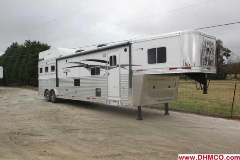 #87328 - New 2013 Lakota 8316GLQ BIGHORN UG 3 Horse Trailer with 16' Short Wall