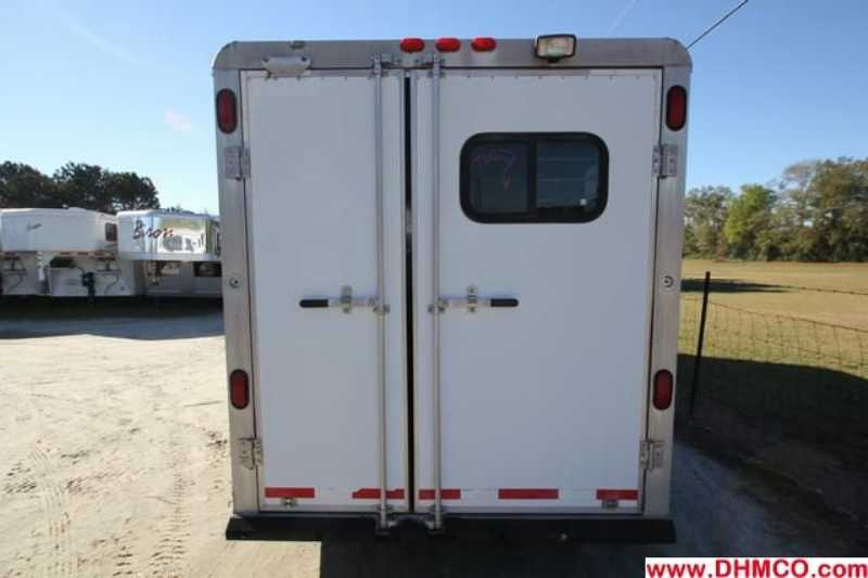 #32037 - Used 1999 Starlite 3HSL 3 Horse Trailer  with 4' Short Wall