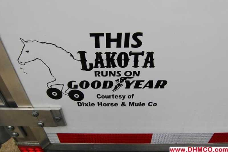 #87377 - Used 2011 Lakota  4 Horse Trailer  with 12' Short Wall