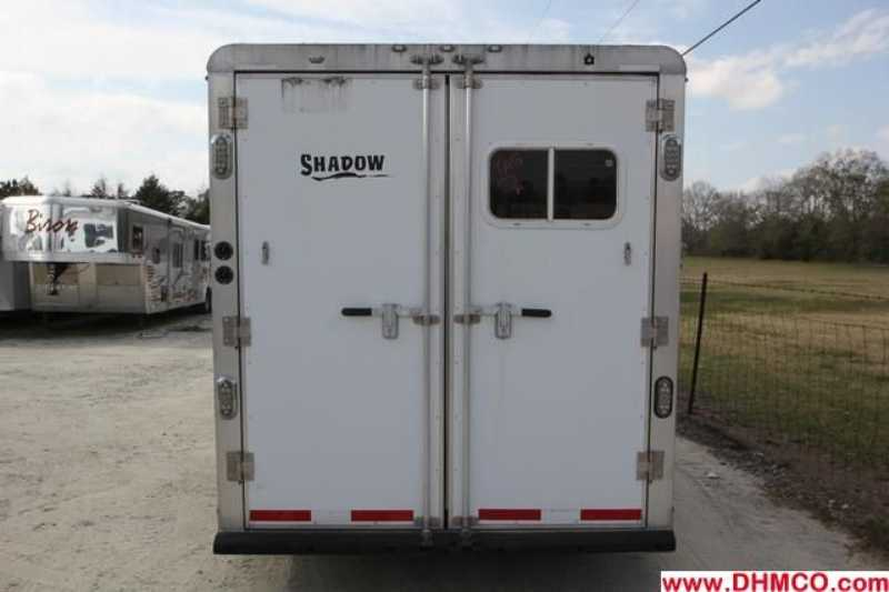 #73862 - Used 2005 Shadow  3 Horse Trailer  with 8' Short Wall