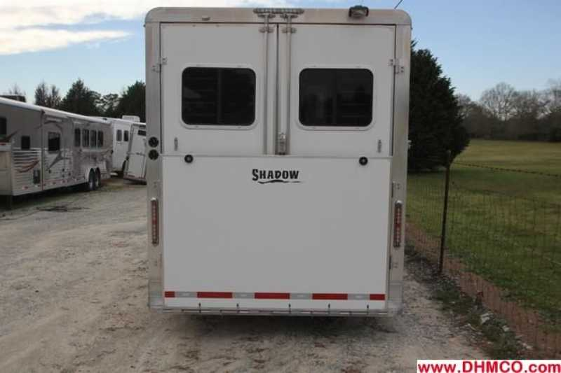New 2008 Shadow 2 Horse Straight Trailer