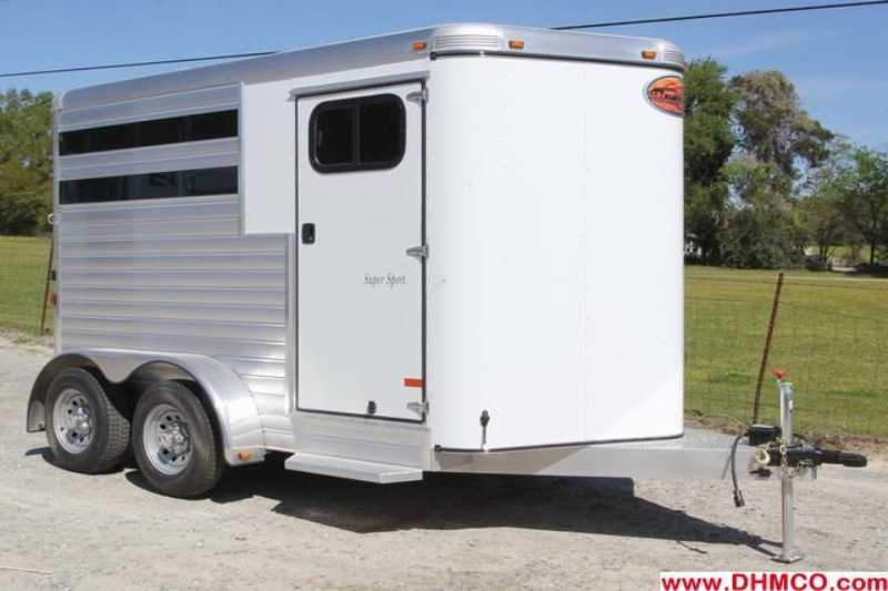 #A7689 - New 2014 Sundowner SS2HBP 2 Horse Trailer  with 2' Short Wall