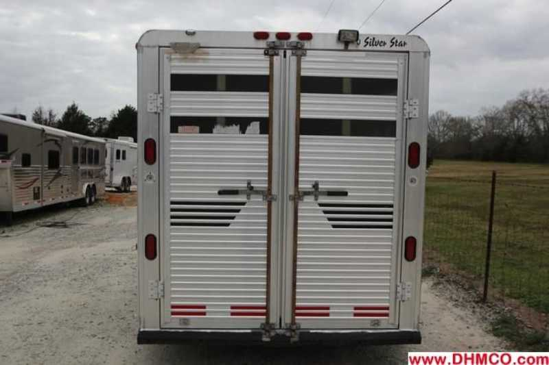 Used 1997 Silver Star 4 Horse Slant Trailer