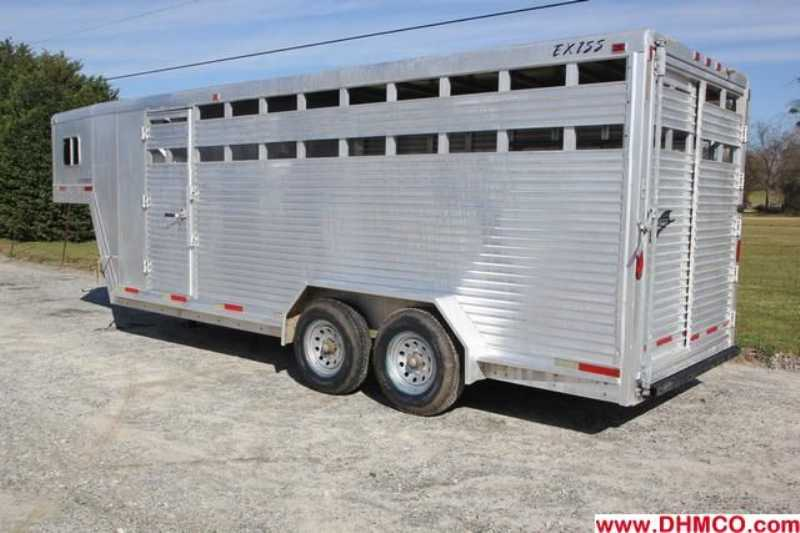 Used 2000 Exiss Stock Trailer