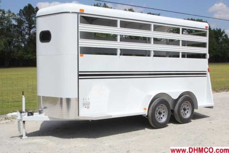 #77687 - New 2013 Bee 3HBPSL 3 Horse Trailer with 2' Short Wall