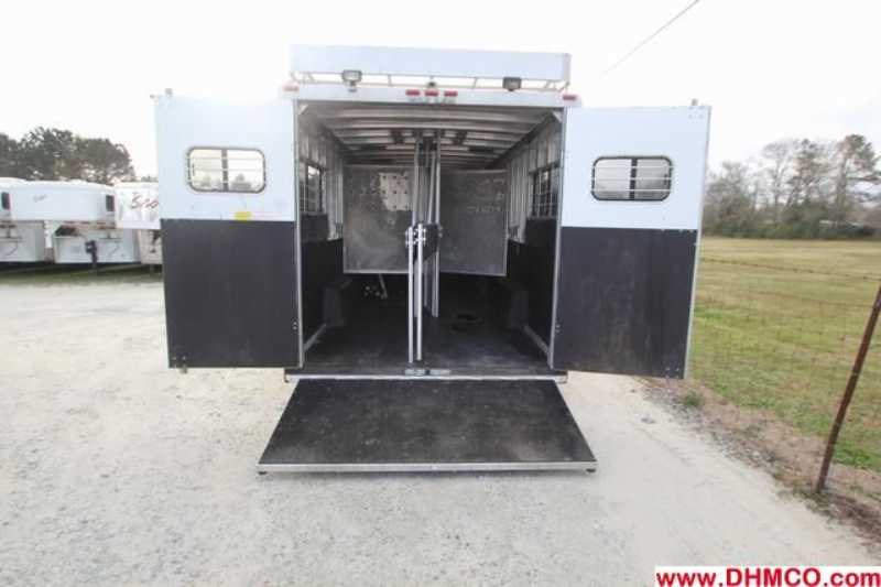 Used 2000 Sundowner 4 Horse Head to Head Trailer