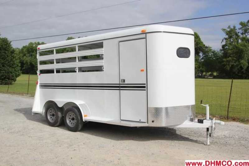 #77698 - New 2013 Bee 3HBPSL 3 Horse Trailer  with 2' Short Wall