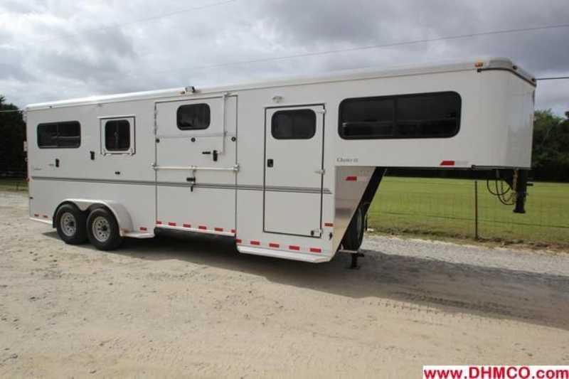 #A7818 - New 2014 Sundowner CHARTER2HGNTRSE2+1 2 Horse Trailer with 4' Short Wall