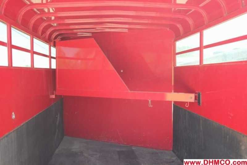 Used 2006 S&H 2 Horse Slant Trailer