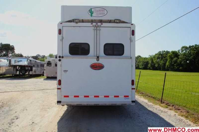 Used 2003 Sundowner 4 Horse Slant Trailer