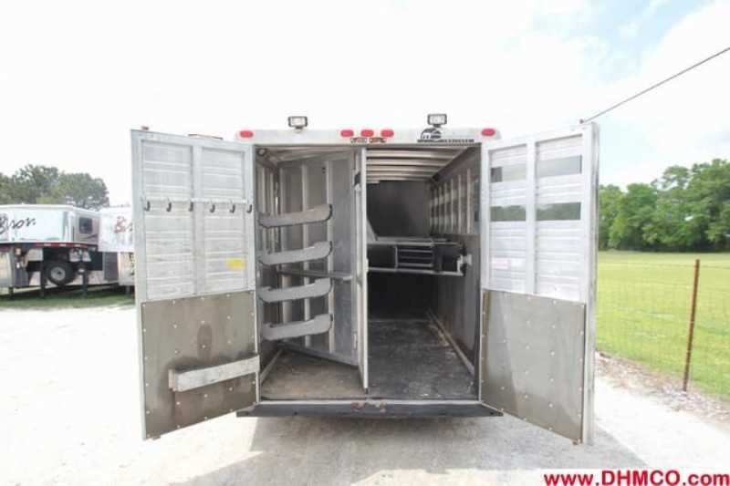 Used 1994 Sundowner 4 Horse Slant Trailer