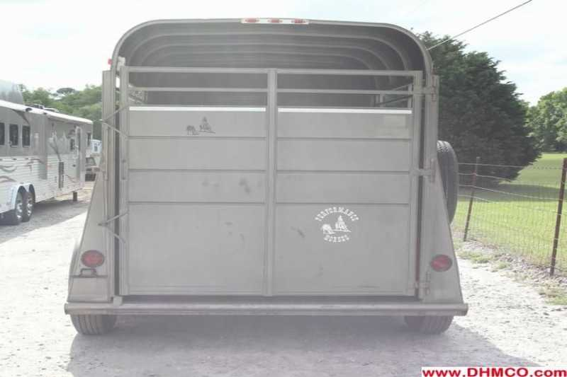 #80264 - Used 2004 Longhorn 2HSL 2 Horse Trailer  with 2' Short Wall