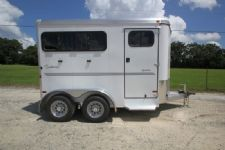 #A8109 - New 2014 Sundowner SPORTMAN2HBP 2 Horse Trailer  with 3' Short Wall