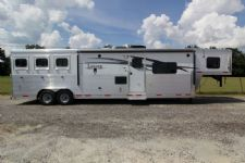 #87404 - New 2014 Lakota 8314GLQ BIGHORN 3 Horse Trailer  with 14' Short Wall