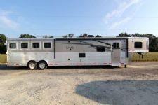 #87491 - New 2014 Lakota BIGHORN 8416GLQ 4 Horse Trailer  with 16' Short Wall