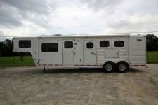 #97239 - Used 2002 Dreamcoach  3 Horse Trailer  with 10' Short Wall