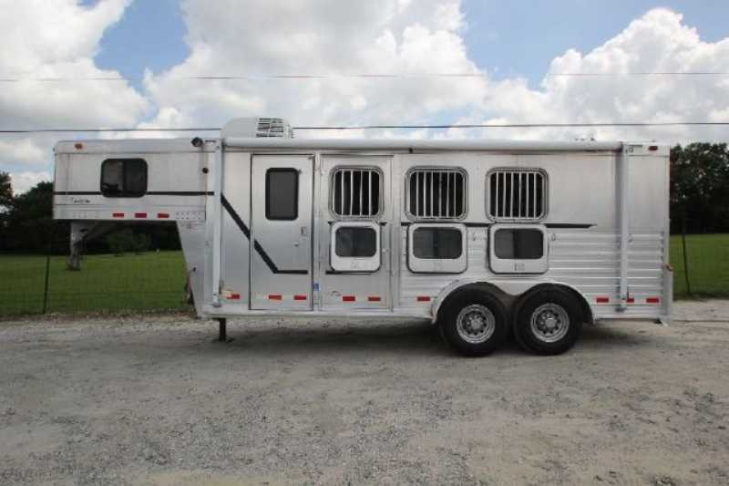 Cherokee Horse Trailer For Sale Used 2002 3 Horse Trailer