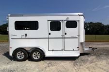 #A8359 - New 2014 Sundowner CHARTER2NBPTRSE 2 Horse Trailer  with 5' Short Wall