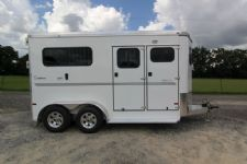 #A8360 - New 2014 Sundowner CHARTER2NBPTRSE 2 Horse Trailer  with 5' Short Wall