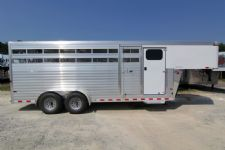 #A8385 - New 2014 Sundowner RANCHER20GNTR Stock Trailer  with 4' Short Wall