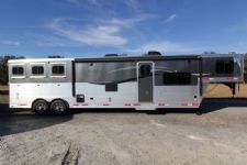 #87746 - New 2014 Lakota Charger 8315GLQ 3 Horse Trailer  with 15' Short Wall