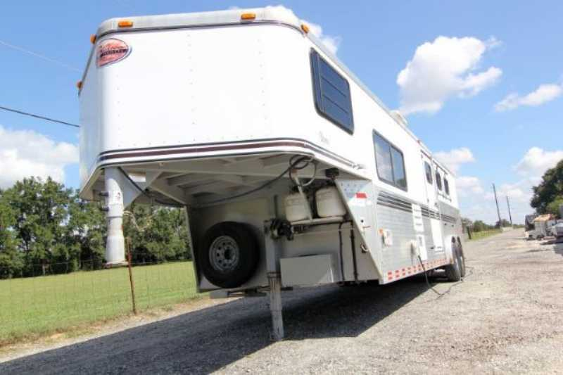 Used 3 Horse Sundowner Horse Trailer with Living Quarters ...