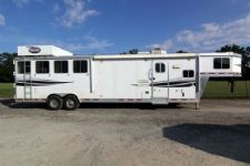 #87186 - Used 2009 Lakota 8410GLQ 4 Horse Trailer  with 10' Short Wall